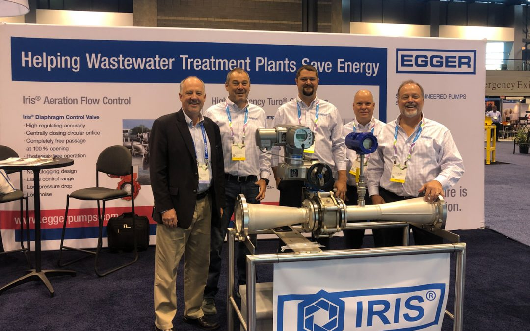 EGGER Pumps North America at WEFTEC 2019