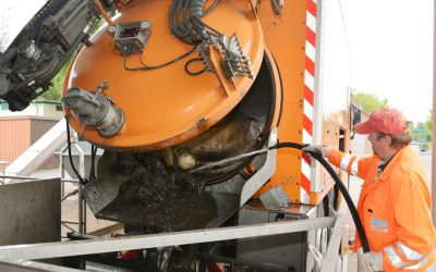 Wastewater grit removal with Egger pumps