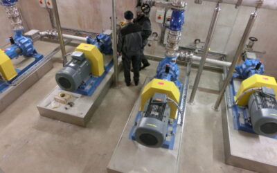 Raw sewage and high discharge heads – a mastered challenge – Lifting station Kalchreuth