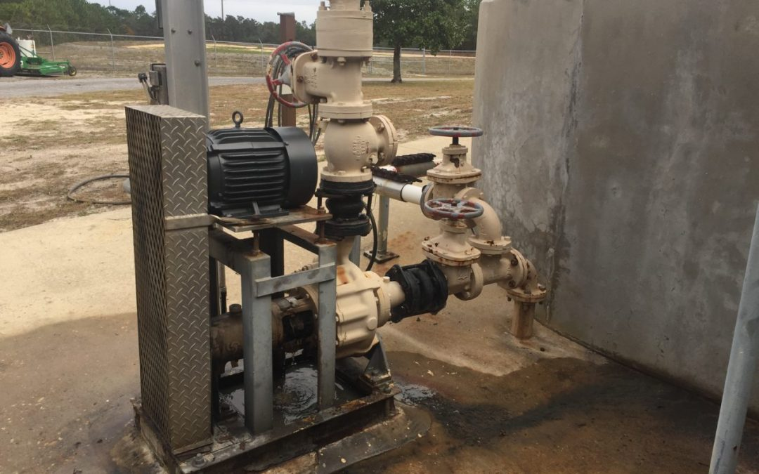 Egger Vortex Grit Pump running since 1990 in Florida